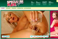 Screenshot of Speculum Plays
